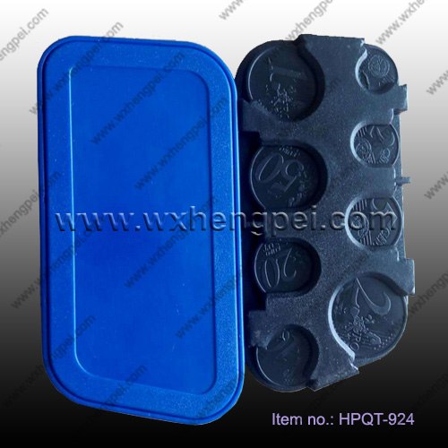 European plastic coin holder/automobile coin holder