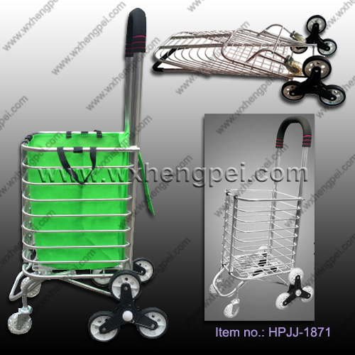 Climbing shopping trolley / Foldable shopping cart