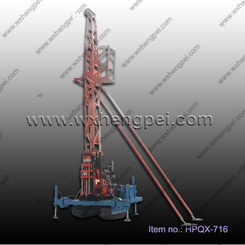 Engineering geological crawler drilling machine with tower GXY-2T