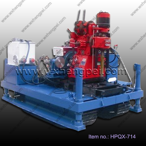 Hot sale borehole drilling rig equipment GXY-2L
