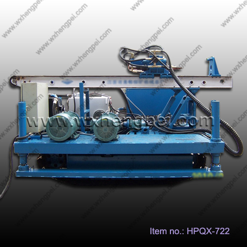 Double Pipes Crawler drilling rig machine for jet-grouting a