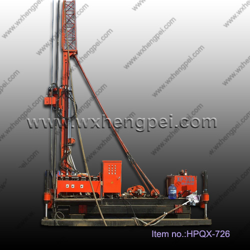 Hydraulic power head jet grouting drilling rig with high&nbs