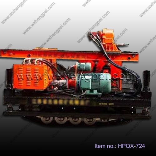 Jet Grouting drilling machine with crawler for exploration X