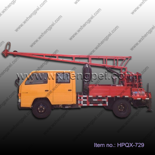 Good quality truck mounted water well drilling rig for