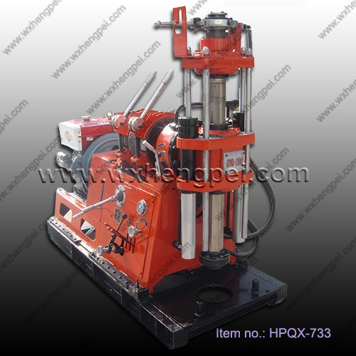 Portable core drilling machine for mineral exploration GYQ-200