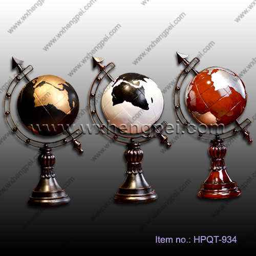 Retro globe decoration/ globe ornament