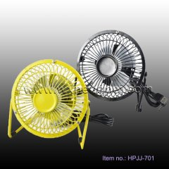USB mini fan fashtion table fan 360 degree gyrating(HPJJ-701)