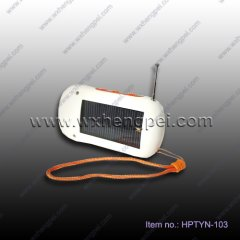 2012 multifunctional solar charger(HPTYN-103)