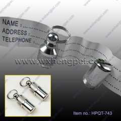 animal ID tag/ Promotional Wholesale Dog Tags (HPQT-743)