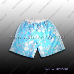 peach skin beach shorts (HPFZ-001)