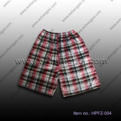 cotton yarn dyed beach shorts (HPFZ-004)