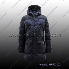 men winter long down coats (HPFZ-102)