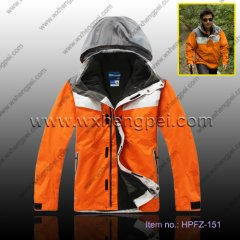 3 in 1 men outdoor jacket(HPFZ-151)