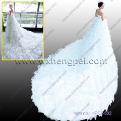 white wedding gown (HPFZ-502)