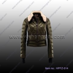 Women Down Wear, Fashion Winter Coat (HPFZ-514)