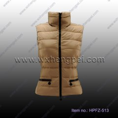 Classic Design Down Vests (HPFZ-513)