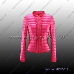 Slim Fit Down Jacket for Ladies (HPFZ-511)