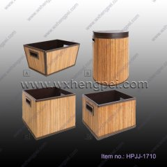 Eco-friendly Handmade Storage Bamboo Box (HPJJ-1710)
