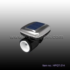 Solar LED Bicycle Lamp Bicycle light with clip(HPQT-214)