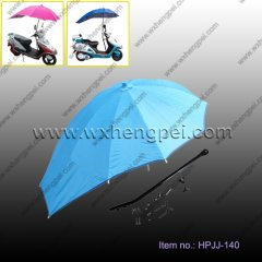 bicycle/electrombile umbrella with bracket (HPJJ-140)
