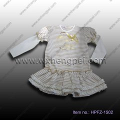 girls dress (HPFZ-1502)