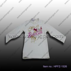beautiful girls T-shirt (HPFZ-1526)