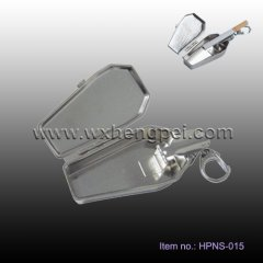 stainless ashtray with keychain (HPNS-015)