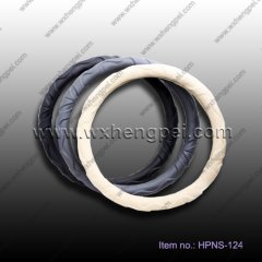leather steering wheel cover (HPNS-124)