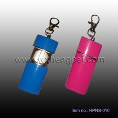 portable ashtray with keychain (HPNS-010)