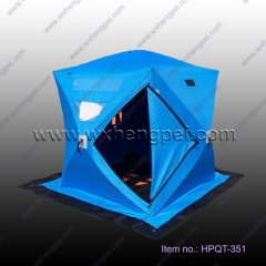 ice fishing tent for outdoor anti fire, waterproof, keep warm