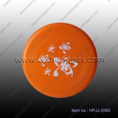 Plastic Frisbee for entertainment (HPJJ-2065 )