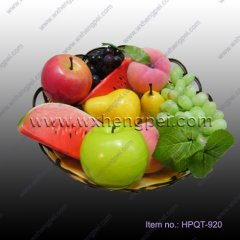 Simulation of fruits and vegetables Fashion simulation of fru