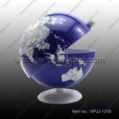 candy container in globe shape(HPJJ-1316 )