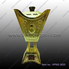 Metal Electronic Incense Burner new style Arabic style metal