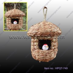 New design nest bird home hourse grass bird nest(HPQT-749 )