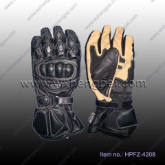 motorcycle gloves/ racing bicycle gloves/ leather gloves (HPF