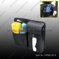 car back seat organizer with tissue bag(HPNS-2213 )