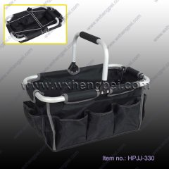 camping basket/ shopping basket/ foldable basket/ BBQ basket(