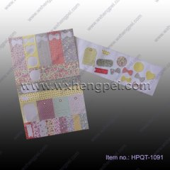 Color sticker with different shape(HPQT-1091)