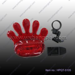 palm bicycle light, bicycle rear lamp(HPQT-5105)