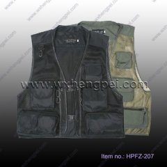 summer mesh photography Vest/ fishing vest/ muti-pockets vest