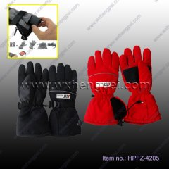Rechargeable li-battery Heated gloves,enjoy the wonderful out