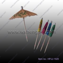 new toothpick with umbrella(HPJJ-1520)