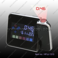 wather multi-function lcd clock(HPJJ-1313)