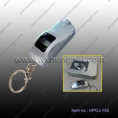car shape digital tire pressure gauge keychain(HPGJ-755)