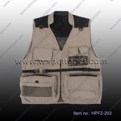 Photography Vest/ film director vest/ muti-pockets vests(HPFZ