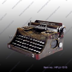 Antique metal typewriter model(HPJJ-1515)