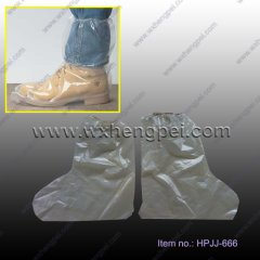 Polycoated Non-Skid Vinyl Sole Disposable Boot Covers(HPJJ-66