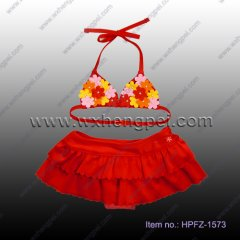kids swimwear,children bikini(HPFZ-1573)