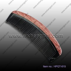 2013 new style ironwood and horn comb(HPQT-615)